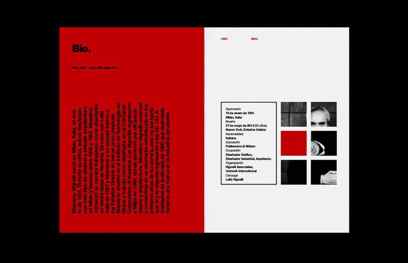 Massimo Vignelli / Fanzine 2