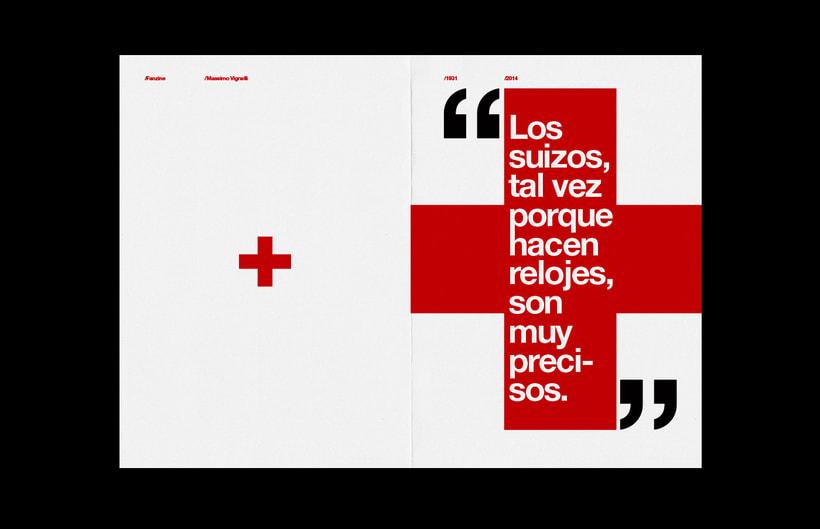 Massimo Vignelli / Fanzine 4