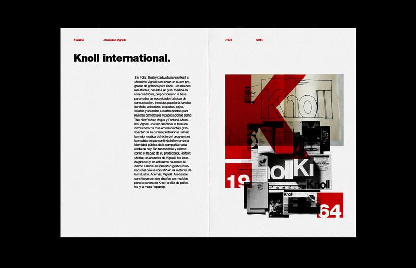 Massimo Vignelli / Fanzine 10