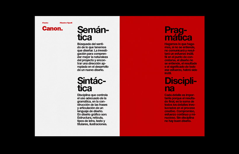 Massimo Vignelli / Fanzine 11