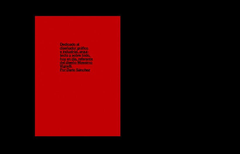 Massimo Vignelli / Fanzine 12