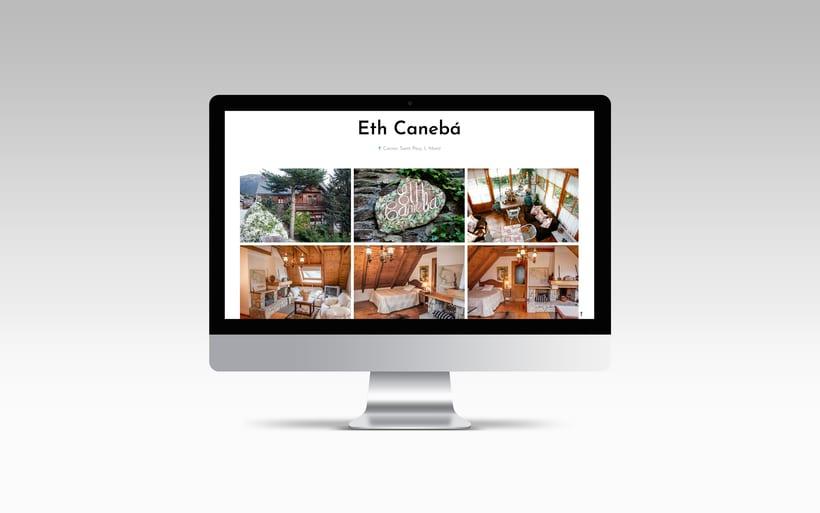 Rediseño y creación del sitio web www.apartamentosvalledearan.com con wordpress.  2