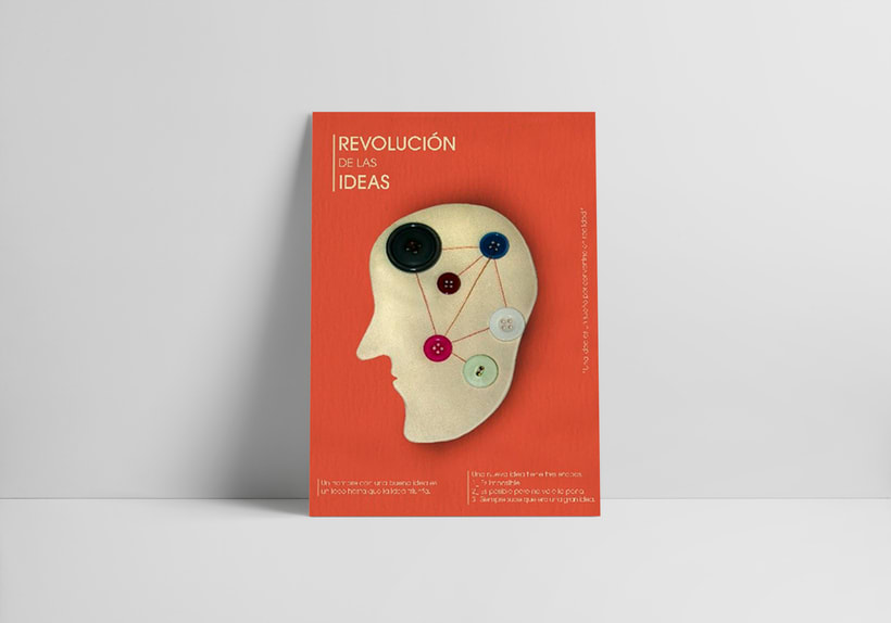 Cartel Revolución de las ideas 0