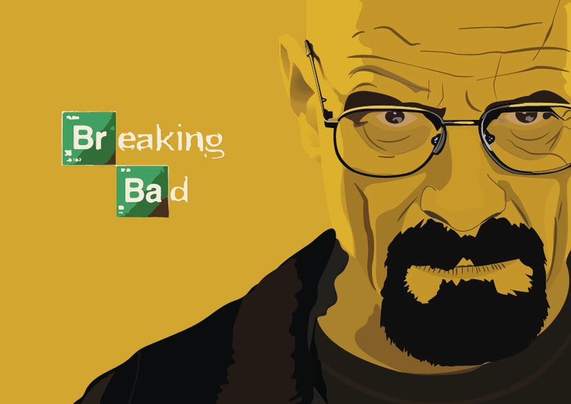 Retrato Walter White 0