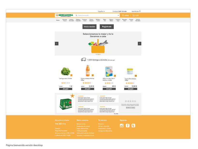 WIREFRAMES. Rediseño de e-commerce. Mobile-First 7