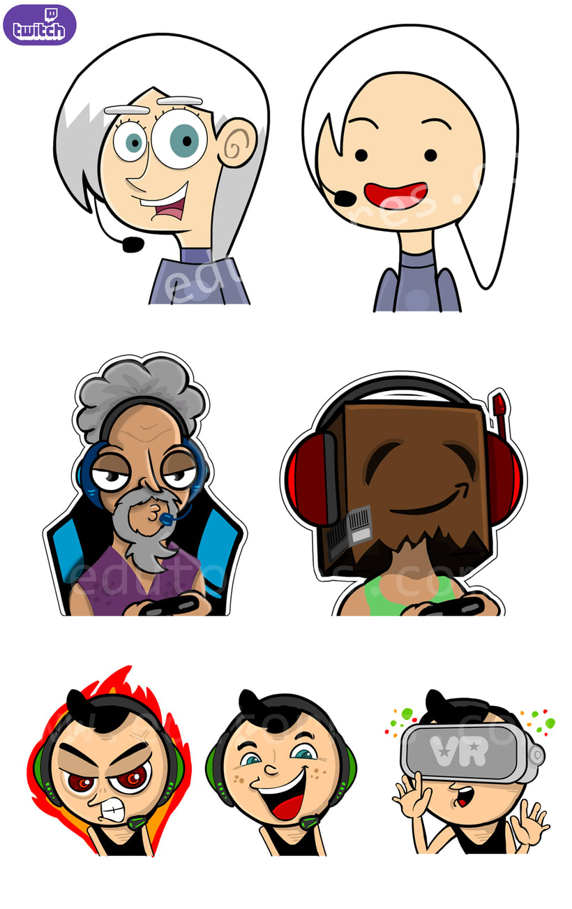 Emotes para streamers de Twitch.tv 0