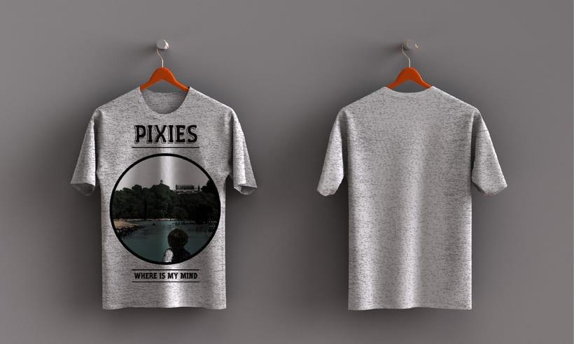 Mis Proyectos del curso: Cartelismo ilustrado sobre Pixies y Arctic Mokeys 1