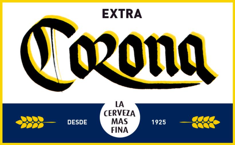 Mi Proyecto del curso: Caligrafía con góticas potentes (Cervezas mexicanas) 4