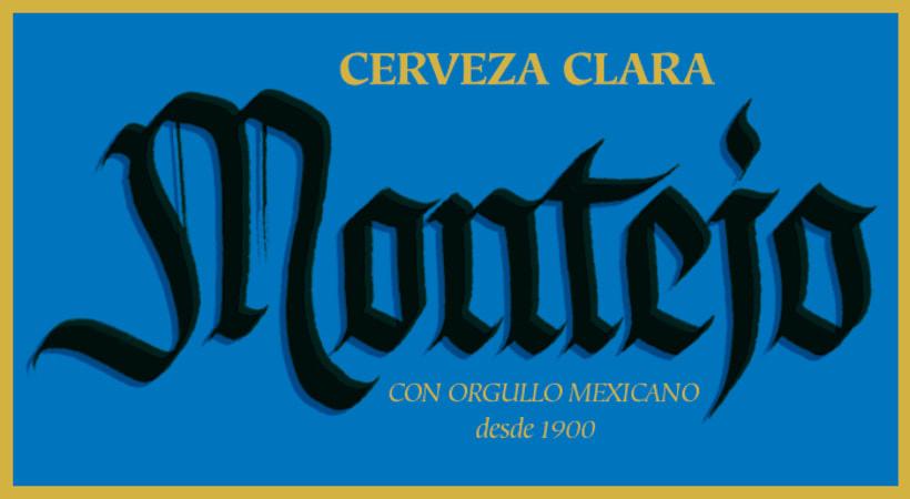 Mi Proyecto del curso: Caligrafía con góticas potentes (Cervezas mexicanas) 5
