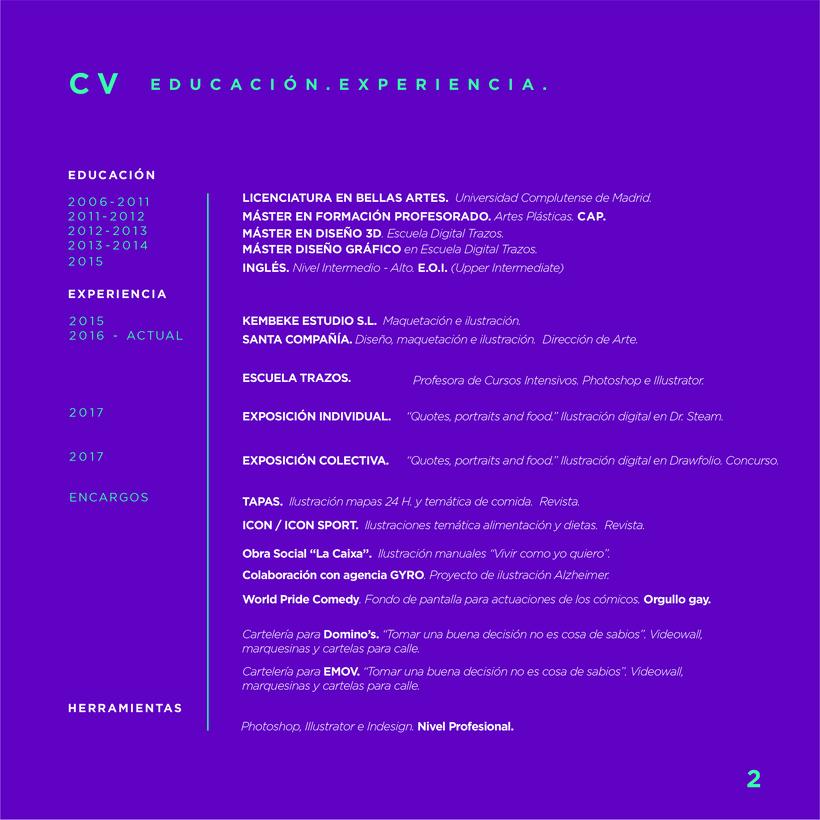 Portfolio y CV 2