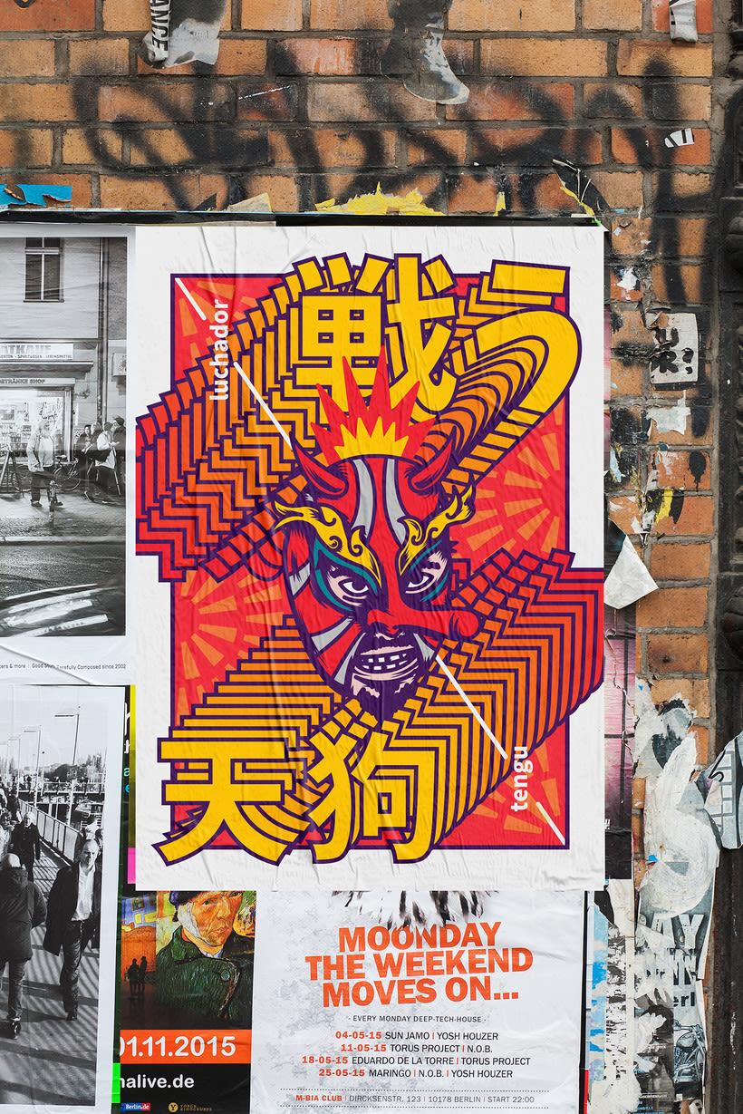 Luchador Tengu 3