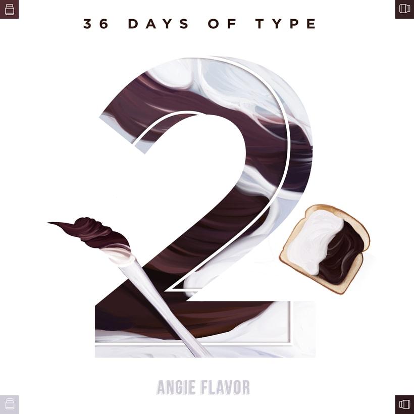 36 days of type INSTAGRAM CHALLENGE 1