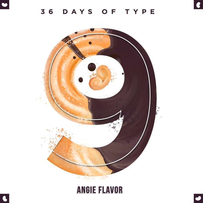 36 days of type INSTAGRAM CHALLENGE 8