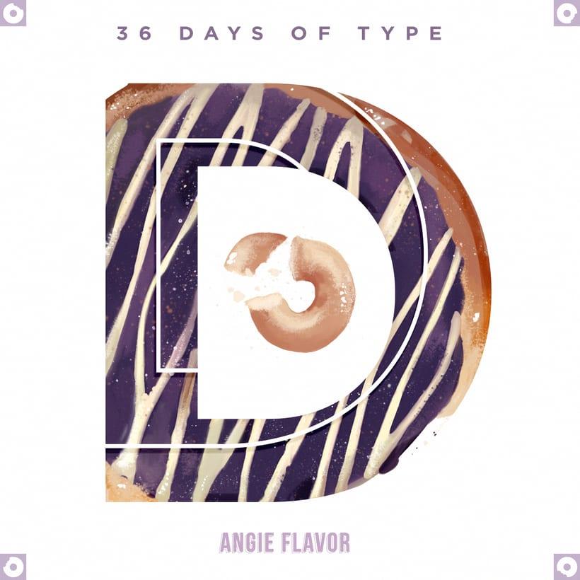 36 days of type INSTAGRAM CHALLENGE 12