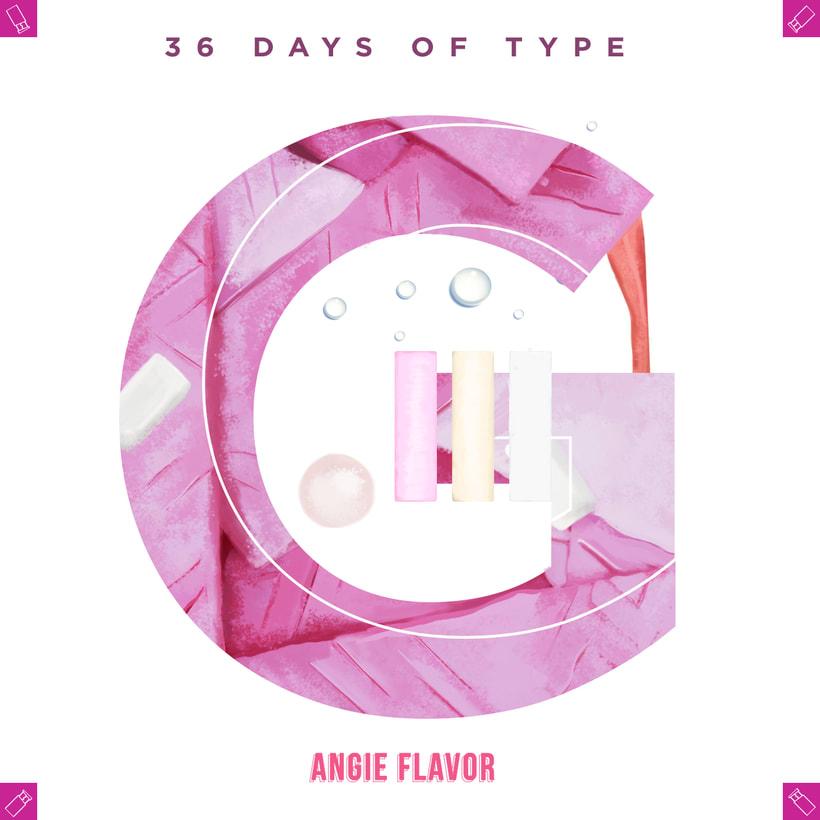 36 days of type INSTAGRAM CHALLENGE 15