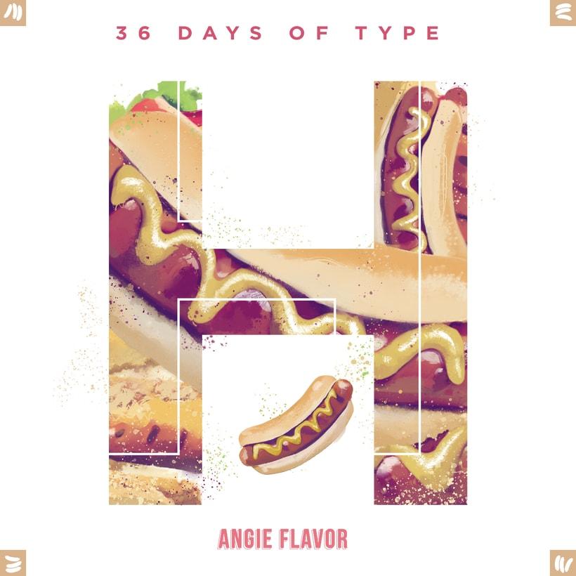 36 days of type INSTAGRAM CHALLENGE 16