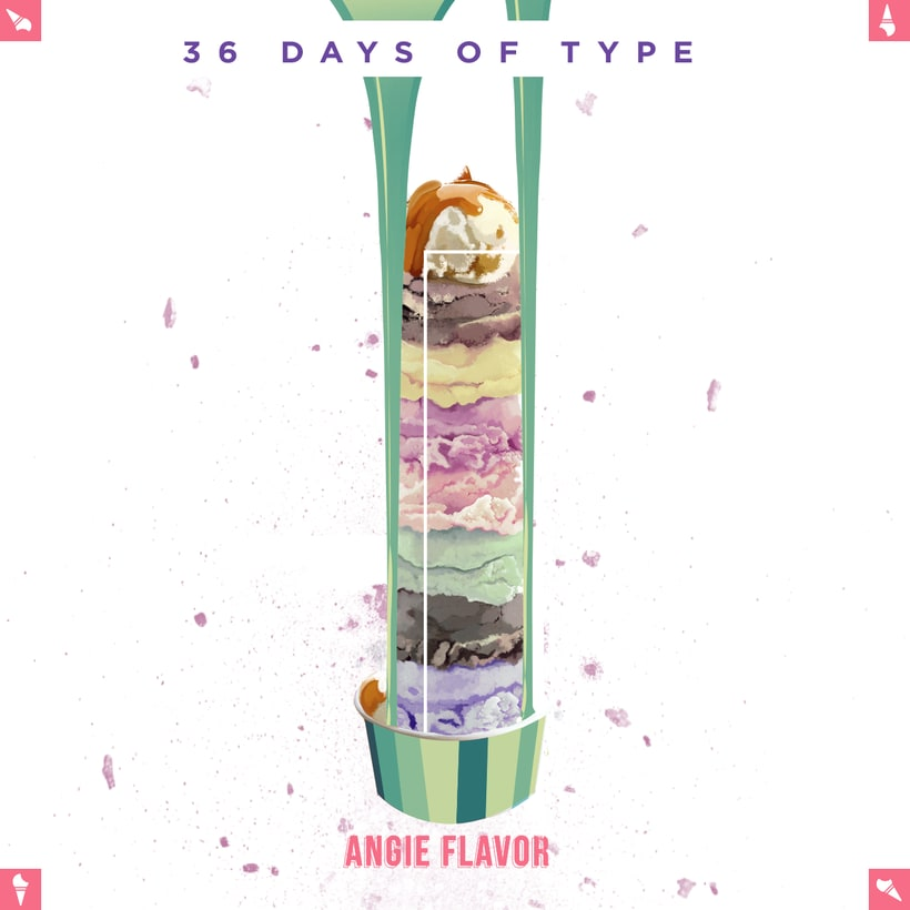 36 days of type INSTAGRAM CHALLENGE 17