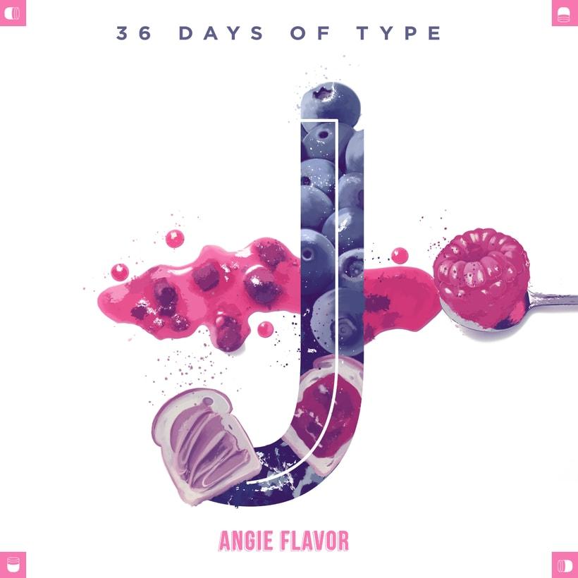 36 days of type INSTAGRAM CHALLENGE 18