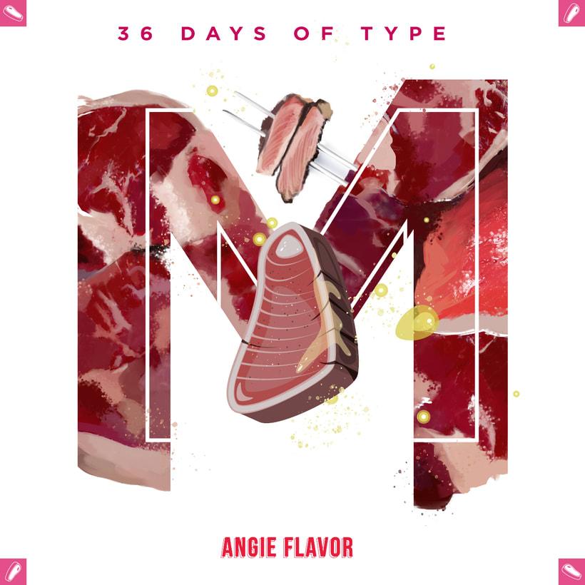 36 days of type INSTAGRAM CHALLENGE 21