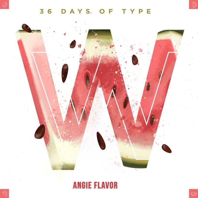 36 days of type INSTAGRAM CHALLENGE 31