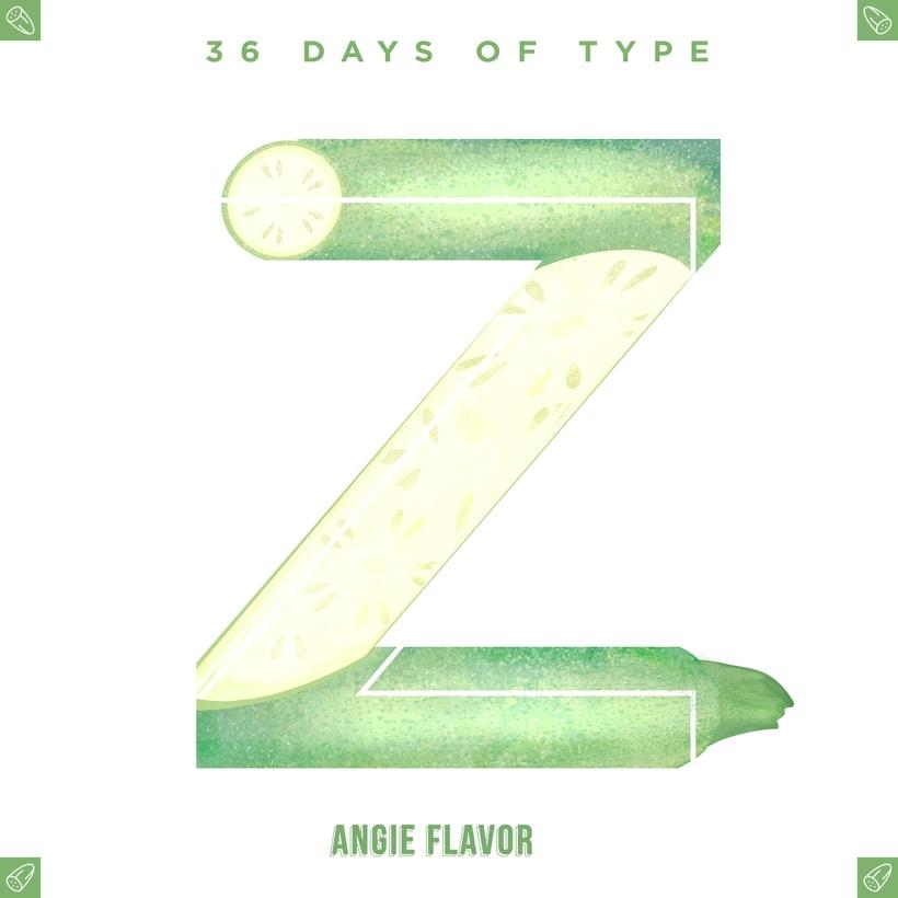 36 days of type INSTAGRAM CHALLENGE 34