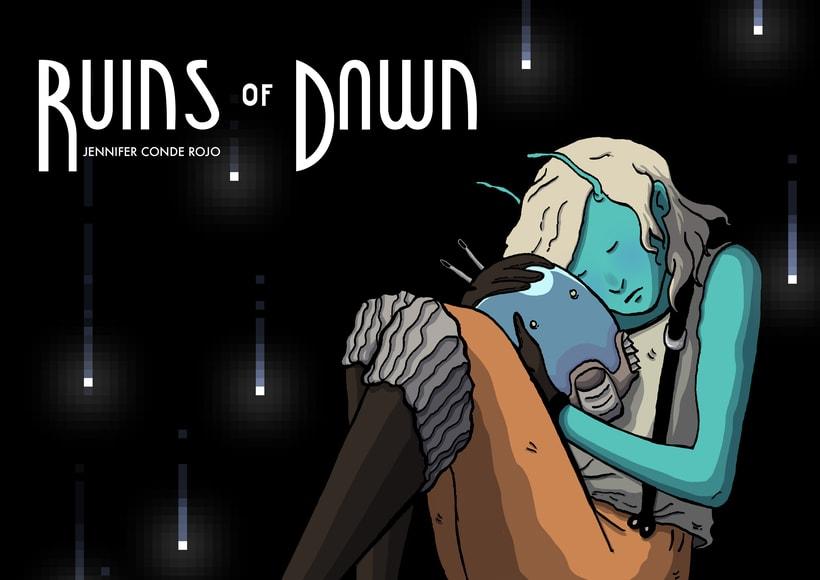 Concept Art para el videojuego Ruins of Dawn 0