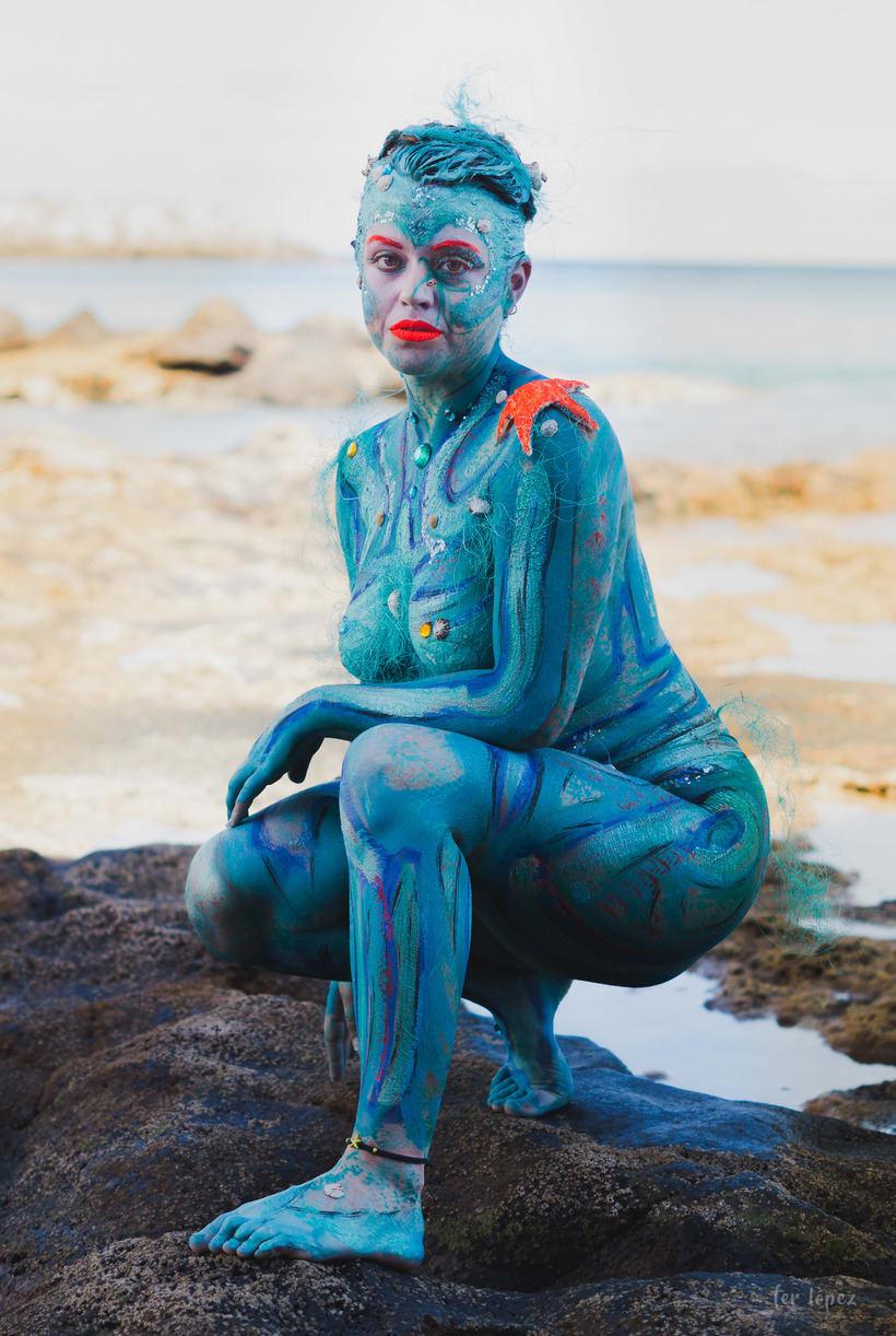 Body Paint - Sirenas 1