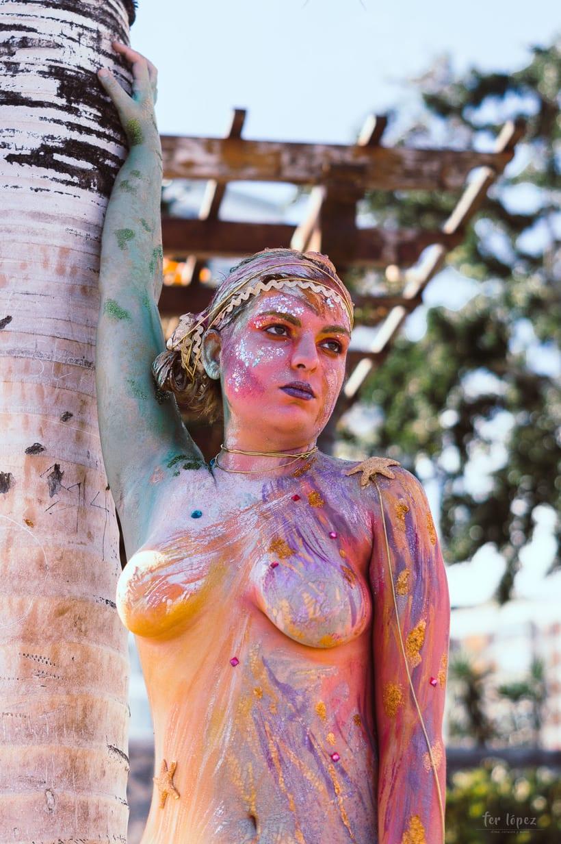 Body Paint - Sirenas 2