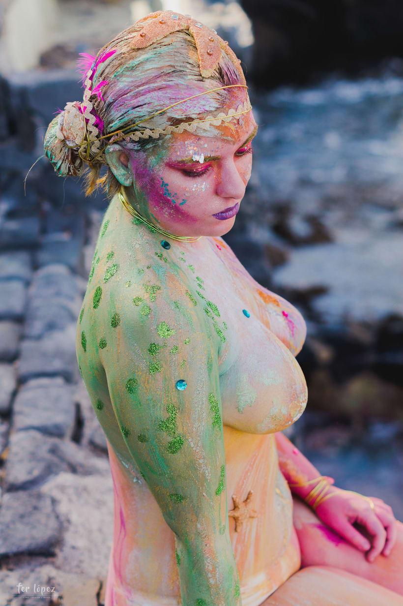 Body Paint - Sirenas 4