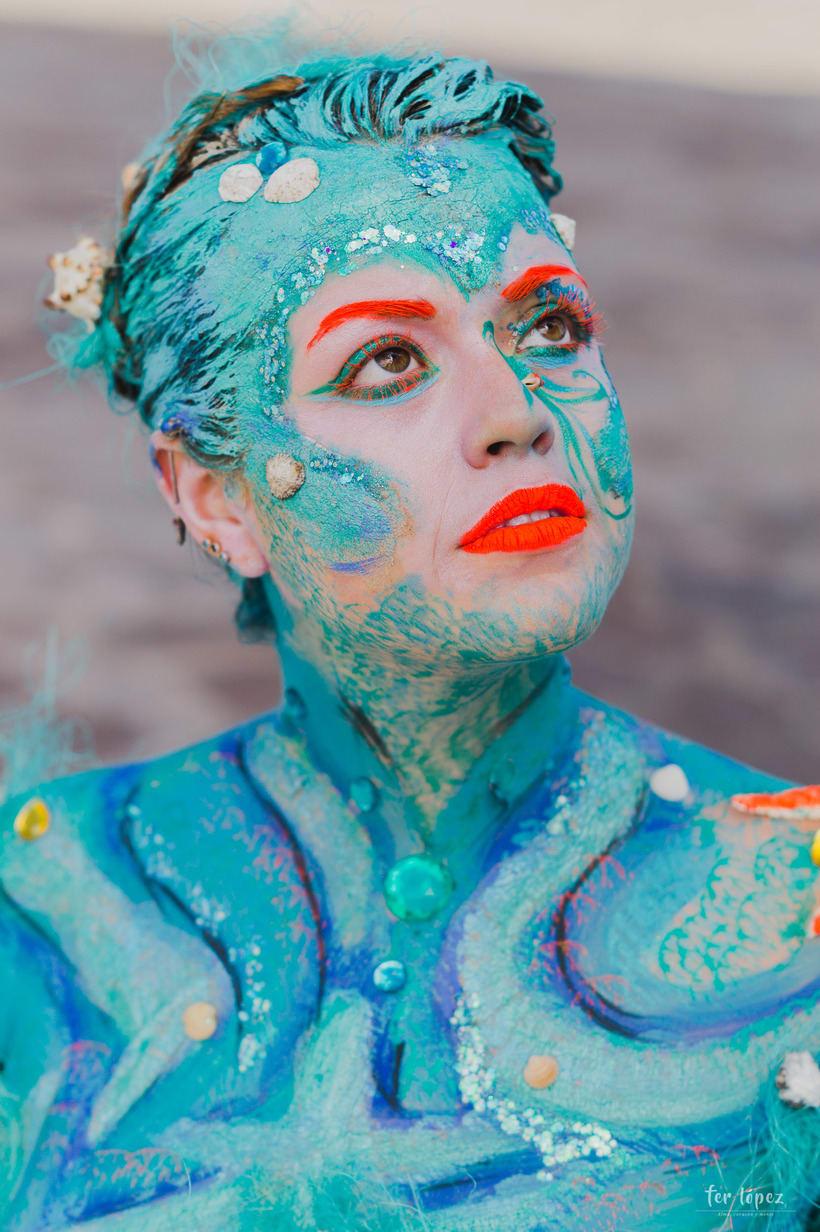 Body Paint - Sirenas 6