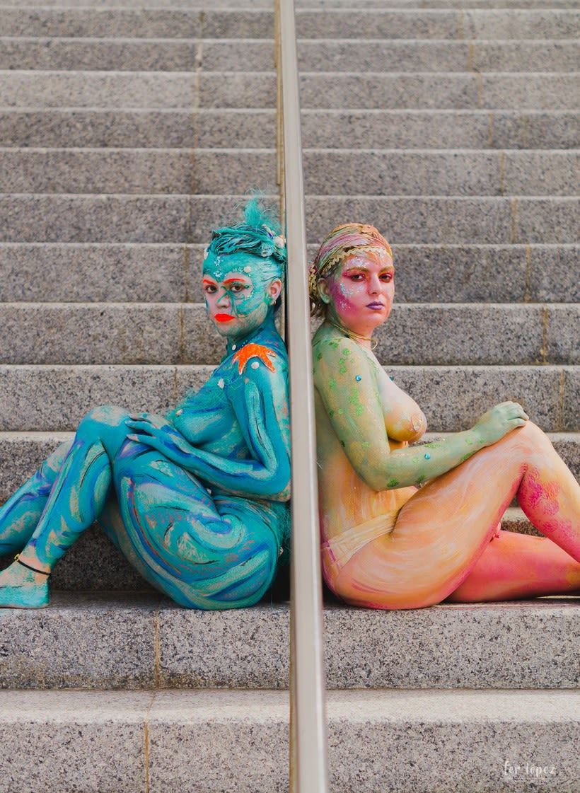 Body Paint - Sirenas 7