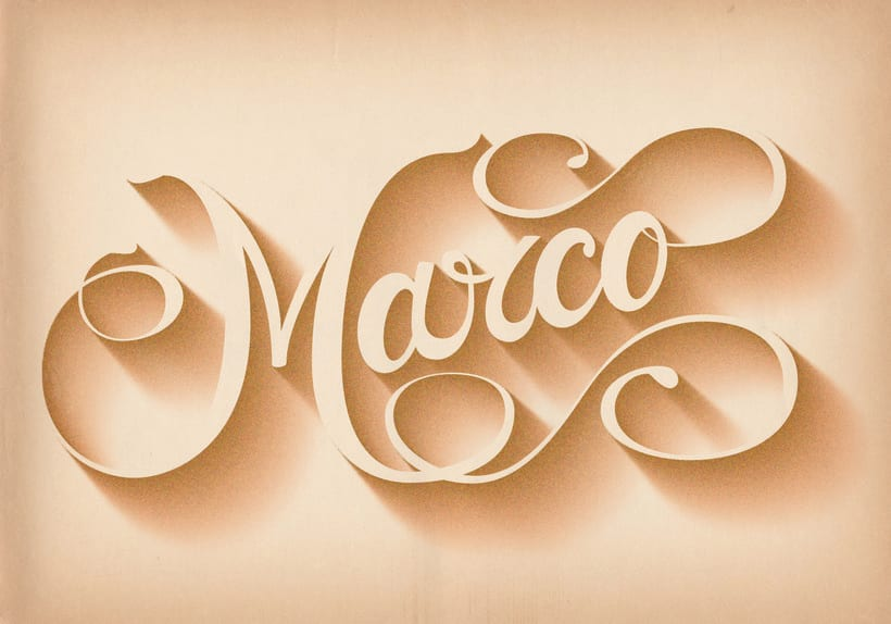 Name lettering 0