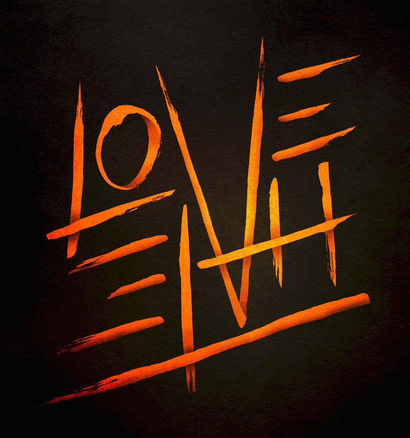 Love & Hate Lettering -1
