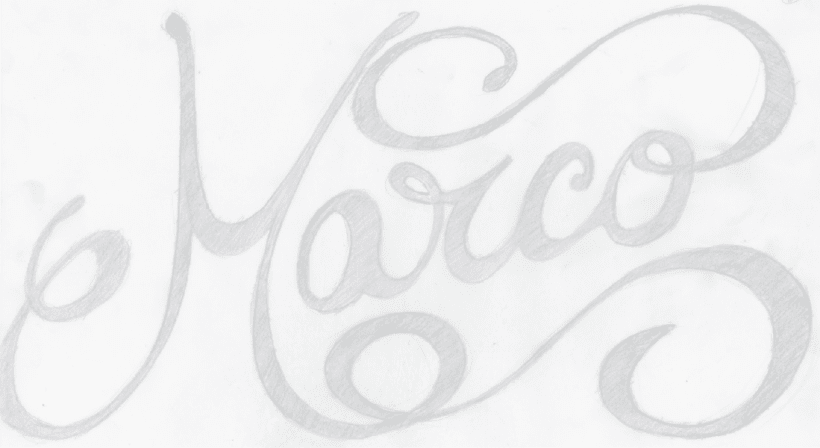 Name lettering 2