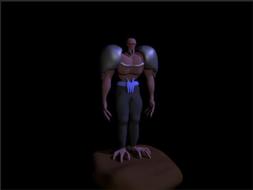 Mi Proyecto del curso: Rigging: articulación corporal de un personaje 3D  0
