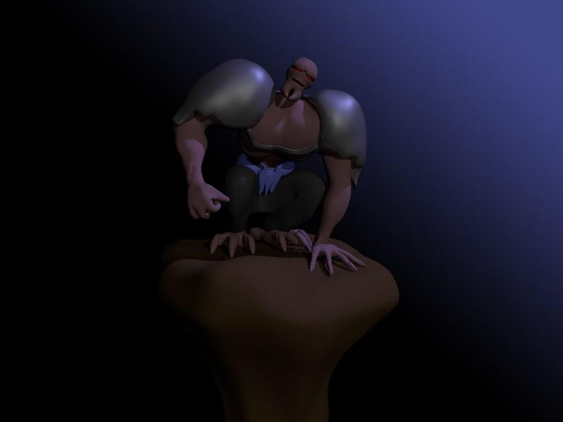 Mi Proyecto del curso: Rigging: articulación corporal de un personaje 3D  1