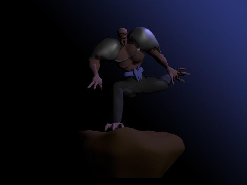 Mi Proyecto del curso: Rigging: articulación corporal de un personaje 3D  2