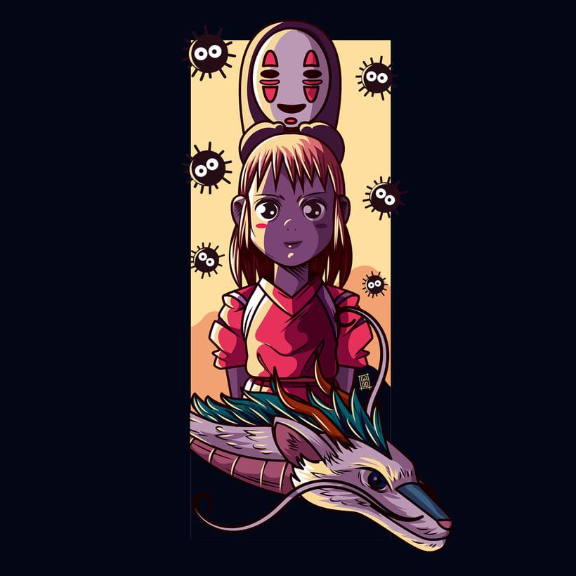 Chihiro / Studio Ghibli 1