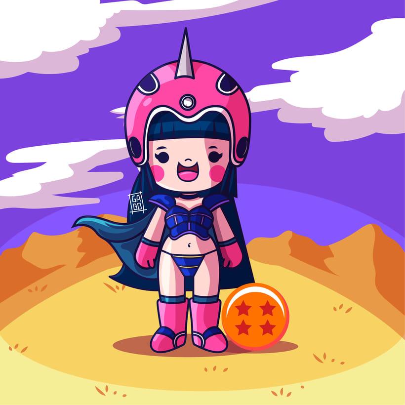 Mi Proyecto del curso: Diseño de personajes estilo kawaii 9
