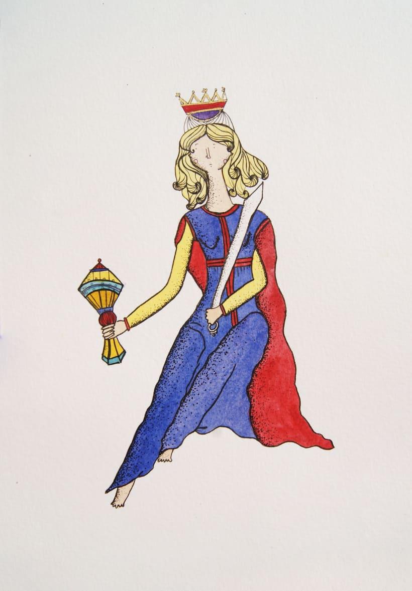 El Tarot de Marsella ilustrado 6