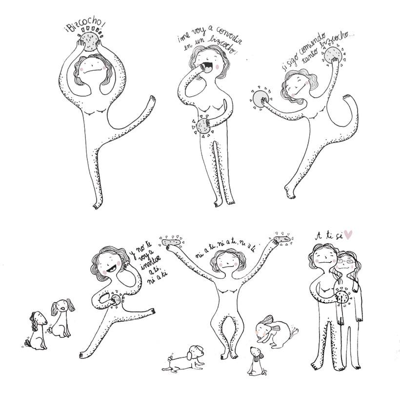 Primeras viñetas en tinta - No hay futuro 1