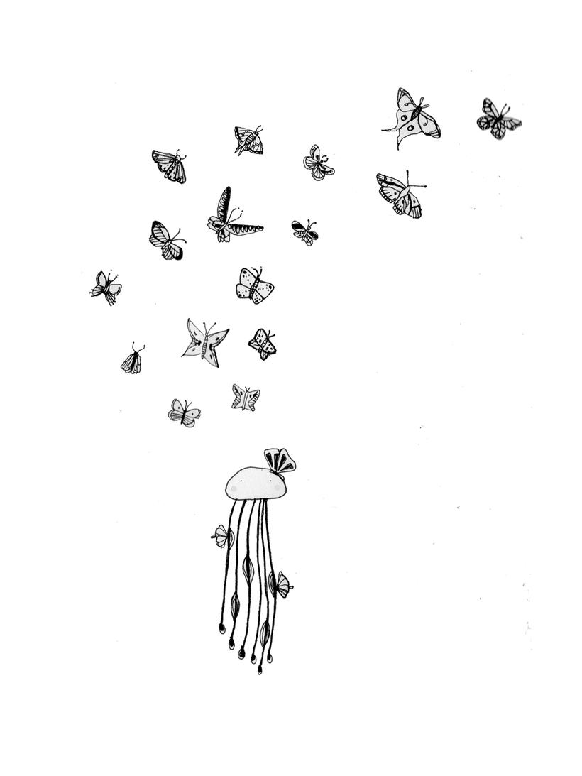 Proyecto jardín en tinta 0