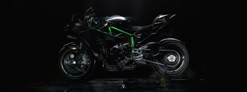 Kawasaki Ninja / Full CGI 1