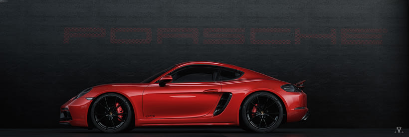 Porsche Caiman // Full CGI 0