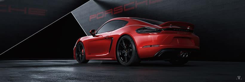 Porsche Caiman // Full CGI 1