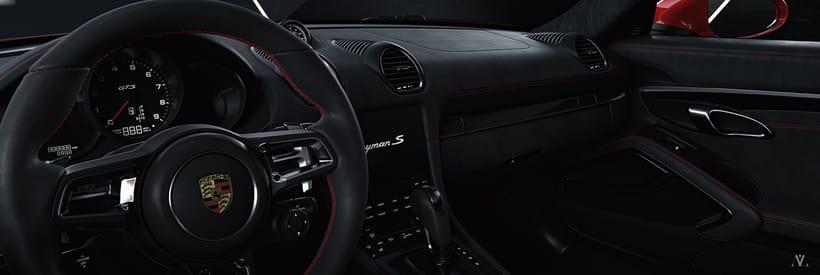 Porsche Caiman // Full CGI 2