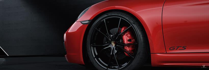 Porsche Caiman // Full CGI 4