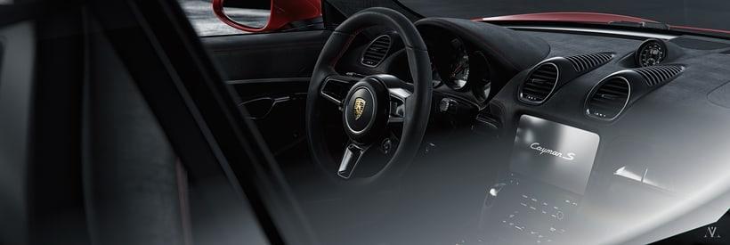 Porsche Caiman // Full CGI 5