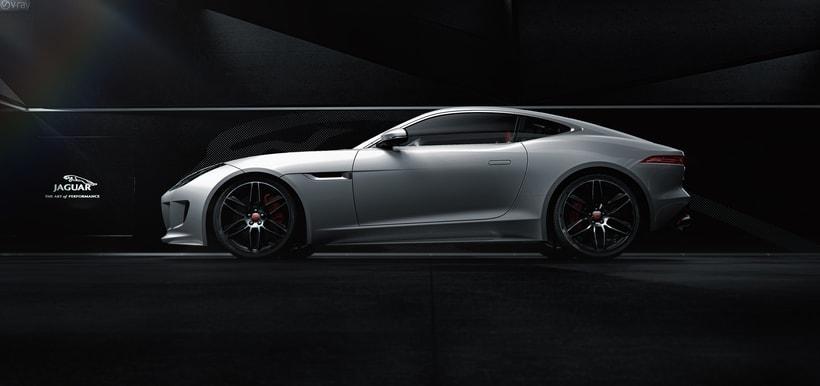 Jaguar F-Type // Full CGI 1