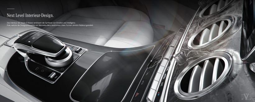 Mercedes Benz E Class Avantgarde // Full CGI 0